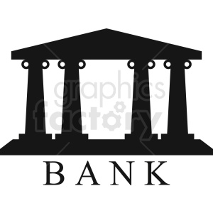 bank logo idea clipart. Commercial use image # 408581