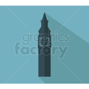 big ben building vector clipart. Royalty-free image # 408586