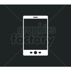 tablet device vector design on black background clipart. Royalty-free image # 408694