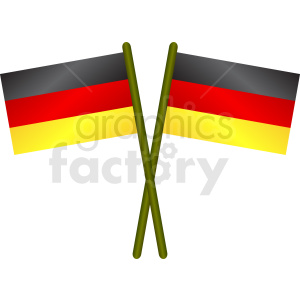 germany flag design clipart. Royalty-free image # 408771