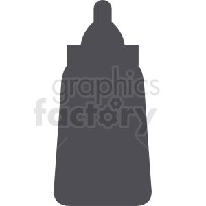 mustard bottle vector silhouette
