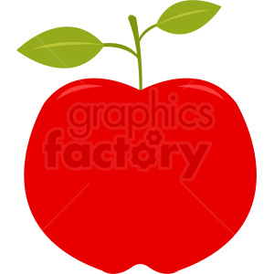 apple vector clipart. Royalty-free image # 408889