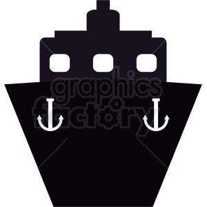 cargo ship icon design no background clipart. Commercial use image # 408989