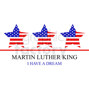 Martin Luther king political vector icon clipart. Royalty-free image # 409020