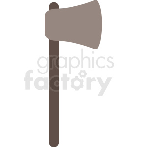 axe vector icon clipart. Royalty-free image # 409064