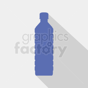 water bottle silhouette on gray background clipart. Royalty-free image # 409117