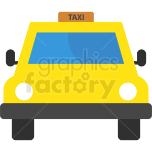 taxi vector icon clipart. Royalty-free image # 409139