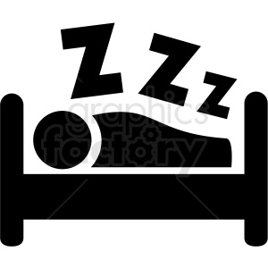 sleep zzz icon clipart. Royalty-free image # 409188