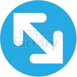 designer resize icon clipart. Royalty-free image # 409208