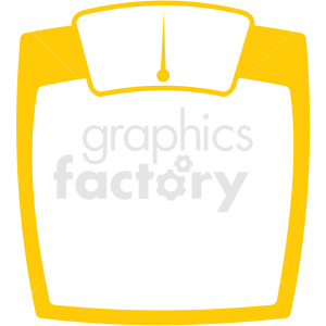 body scale icon clipart. Commercial use image # 409380