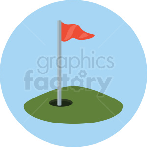 golf course vector clipart clipart. Royalty-free image # 409505