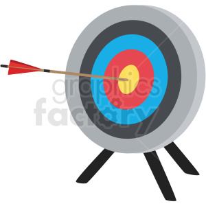 target arrow vector clipart clipart. Commercial use image # 409525