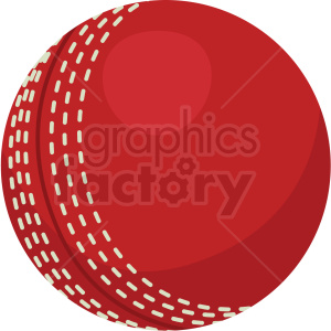 cricket ball vector clipart no background