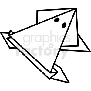 frog paper craft clipart. Royalty-free image # 409561