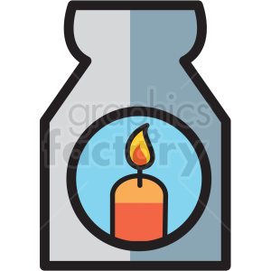 candle light vector icon clipart clipart. Royalty-free image # 409601