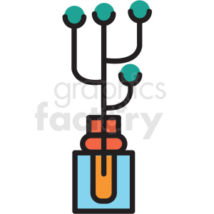 spa plant vector icon clipart clipart. Royalty-free image # 409616