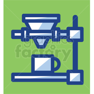 coffee machine with cup vector icons clipart. Commercial use image # 409726