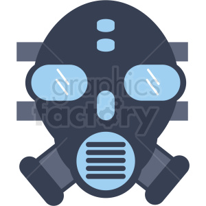 game gas mask clipart icon
