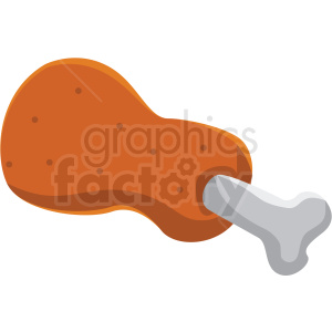 game chicken food vector icon clipart clipart. Commercial use image # 409835