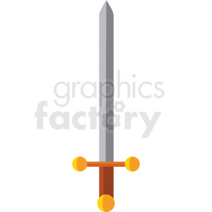 game sword vector icon clipart clipart. Royalty-free image # 409871