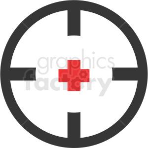 game reticle clipart icon clipart. Royalty-free icon # 409880