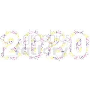 2020 design new year clipart no background clipart. Commercial use image # 410035