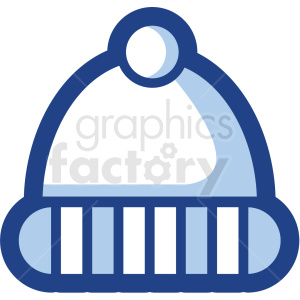 beanie vector icon no background clipart. Royalty-free image # 410168