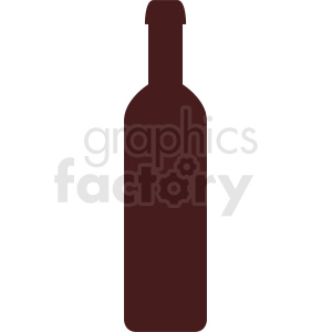 bottle icon clipart. Commercial use image # 410278