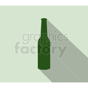 green bottle silhouette clipart on green background clipart. Royalty-free image # 410320