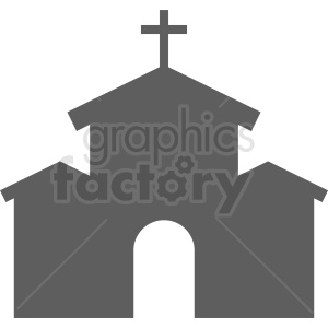church vector clipart clipart. Royalty-free image # 410395
