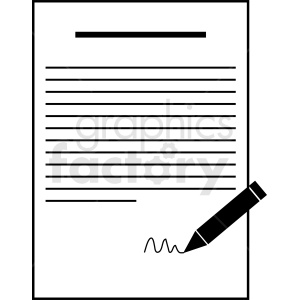 contract vector clipart clipart. Commercial use icon # 410458
