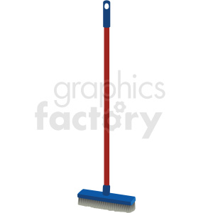 floor brush vector clipart clipart. Commercial use image # 410542