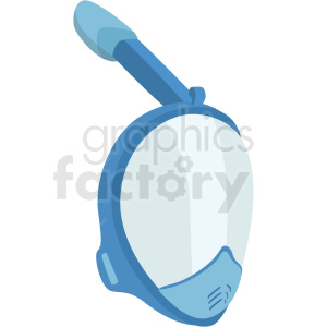 modern snorkel mask vector clipart clipart. Royalty-free image # 410580
