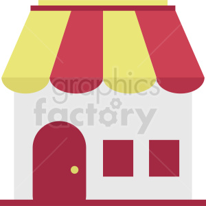 store vector icon clipart. Commercial use image # 410724
