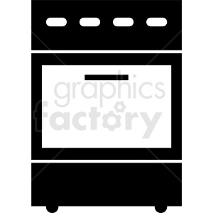 oven vector icon clipart. Royalty-free image # 410809