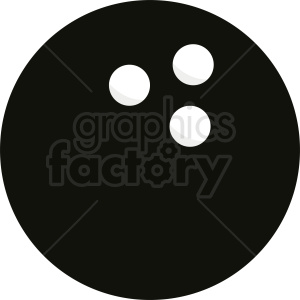 bowling ball vector icon clipart. Royalty-free image # 411080
