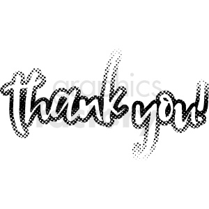 thank you vector clipart clipart. Commercial use image # 411162