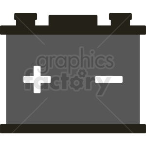 cartoon car battery vector clipart clipart. Royalty-free image # 411948