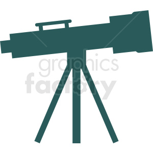 telescope vector icon clipart. Royalty-free image # 411974