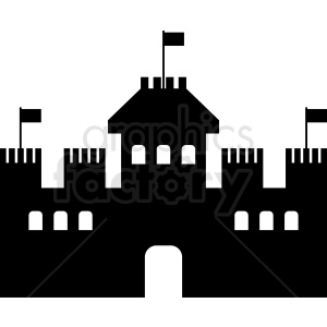 castle vector clipart clipart. Commercial use image # 412025