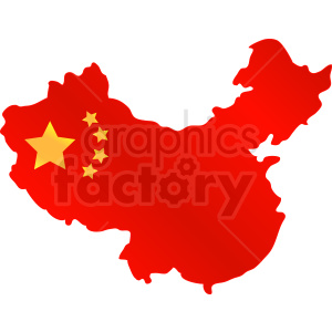 China gradient fill vector design clipart. Royalty-free image # 412207