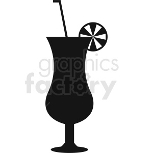 cocktail mixed drink glass clipart. Royalty-free image # 412235