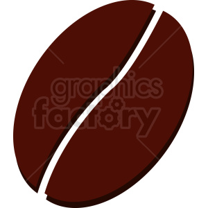 coffee bean vector clipart. Royalty-free image # 412285