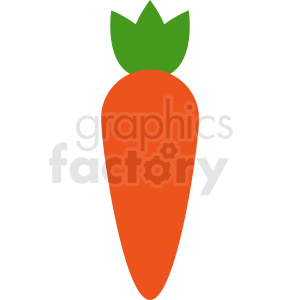vector carrot icon clipart. Commercial use image # 412291