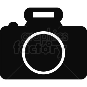 black and white camera icon clipart clipart. Royalty-free image # 412296