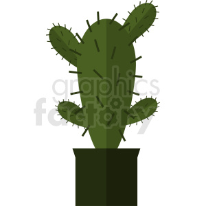 cartoon cactus clipart clipart. Royalty-free image # 412374