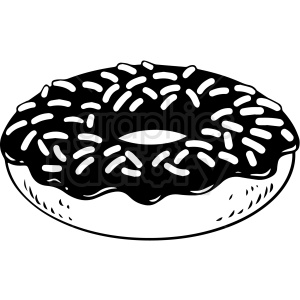 cartoon doughnut vector clipart clipart. Commercial use image # 412638