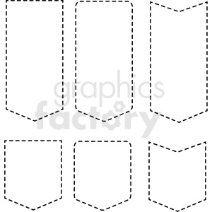panel overlay dashed border templates vector clipart clipart. Royalty-free image # 412660