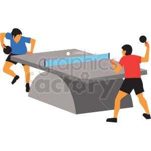 olympic ping pong vector clipart clipart. Commercial use image # 412826