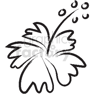 black and white tattoo flowers vector clipart clipart. Commercial use image # 413324